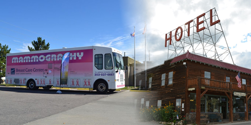 Mobile Mammography Unit